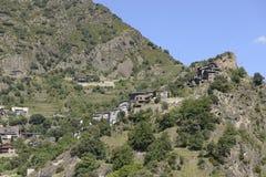 La Vella, 2014 van Andorra Stock Foto's