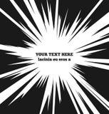 La velocidad de la explosión alinea el fondo del cartel del vector adentro Fotos de archivo libres de regalías