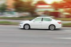 La velocidad del coche Foto de archivo libre de regalías