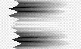 La velocidad horizontal alinea el fondo del vector del modelo libre illustration