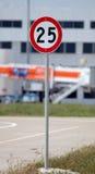 La velocità di traffico canta Fotografie Stock