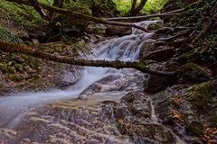 The la Vence creek Royalty Free Stock Image