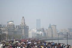 La venda en Shangai Foto de archivo libre de regalías