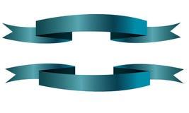 La vendita dell'icona dell'insegna del nastro blu ha isolato il fondo bianco Fotografie Stock