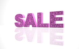 La vendita di parola Fotografia Stock