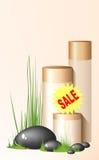 La vendita screma Fotografia Stock