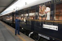 La Venecia Simplon-Orientar-Expresa - el conductor Fotografía de archivo libre de regalías