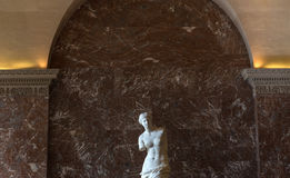 La Venere di Milo, il Louvre, Parigi, Francia Immagini Stock