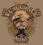 La venganza es la mía diseño libre illustration
