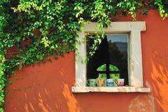 La ventana Fotos de archivo