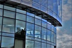 La ventana azul Fotografía de archivo libre de regalías
