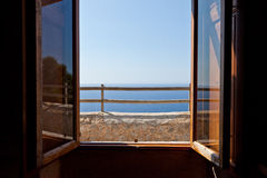 La ventana a Cap de Formentor Foto de archivo