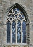 La ventana de la catedral de Dunkeld Imagenes de archivo