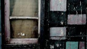 La ventana i vio en alguna parte fotografía de archivo