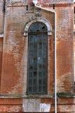 La ventana rota vieja Fotografía de archivo libre de regalías