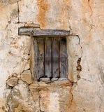 La ventana vieja Foto de archivo libre de regalías