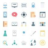 La vente de Digital a isolé des icônes de vecteur réglées peut être facilement modifiée ou éditée illustration de vecteur