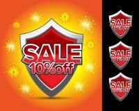 La vente protège 10%  Photo libre de droits