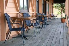 La veranda Fotografie Stock Libere da Diritti