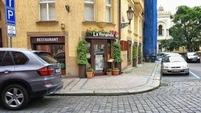 La Veranda restaurant in Prague Royalty Free Stock Photography