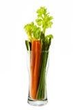 Verdura con pocas calorías Foto de archivo libre de regalías