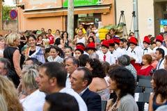 La Verema Festival, Alella Royalty Free Stock Images