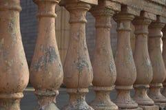 La verja concreta vieja Foto de archivo libre de regalías