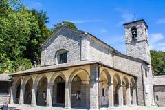 La Verna, Franciscan fristad i Tuscany, Italien royaltyfri bild