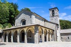 La Verna, Franciscan fristad i Tuscany, Italien royaltyfria bilder