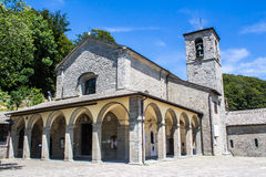 La Verna,Franciscan sanctuary in Tuscany, Italy Royalty Free Stock Images