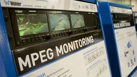 La versión parcial de programa de la prueba de la televisión, AGARRA la exposición 2015 de la demostración en Las Vegas, los E.E. metrajes