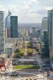 La-Verteidigung, Paris Stockbilder