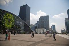 La-Verteidigung, Paris Lizenzfreie Stockfotografie