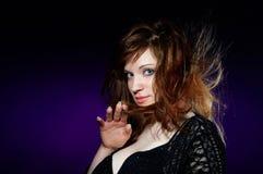 La verticale d'une dame magnifique Photographie stock libre de droits