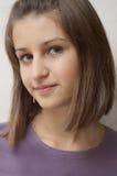 La verticale de jeune fille photographie stock