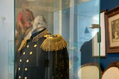 La veste d'uniforme du ` s d'empereur photographie stock libre de droits