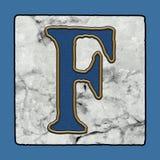 La via classica iconica storica di New Orleans piastrella i numeri & i simboli di lerciume dell'alfabeto della lettera del marcia royalty illustrazione gratis
