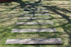 La via di legno di punto Fotografia Stock Libera da Diritti