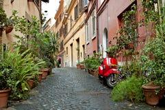 La via 2 di Roma Fotografia Stock Libera da Diritti