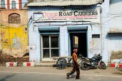 La via in India Immagini Stock Libere da Diritti