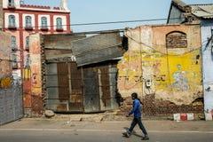 La via in India Fotografie Stock Libere da Diritti