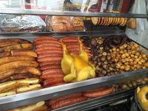 La via mangia nel ¡ di Bogotà Immagini Stock