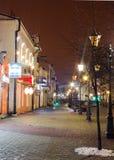 La via principale di Brest immagini stock libere da diritti