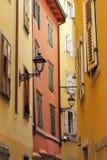 La via a Trieste, Italia Immagini Stock