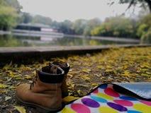 La vibrazione dolce e fredda di ottobre fotografie stock libere da diritti