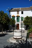 La Victoria, Estepa, España del de de la plaza. Foto de archivo libre de regalías
