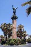 La Victoria statue. Levante Statue. The Victory statue in Puerto Banus Marian or Costa Del Sol, Marbella, Spain Stock Photography