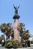 La Victoria statue. Levante Statue. The Victory statue in Puerto Banus Marian or Costa Del Sol, Marbella, Spain Royalty Free Stock Photo