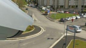 La vidéo surveillance surveille le trafic clips vidéos