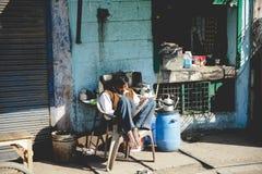 La vida del indio Imagenes de archivo